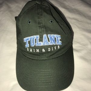 Other - Green Tulane baseball hat